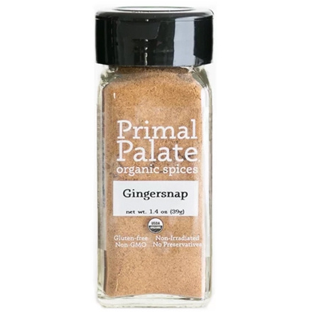 Primal Palate Organic Spices Gingersnap, 39g