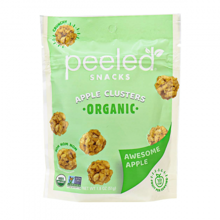 Peeled Snacks Organic Apple Clusters Awesome Apple, 51g