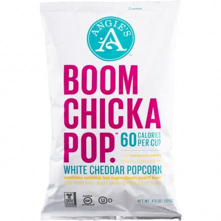 Angie's BOOMCHICKAPOP White Cheddar Popcorn, 126g