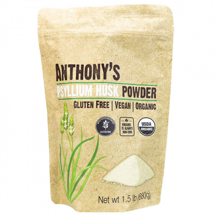 Anthony's Organic Psyllium Husk Powder, 680g