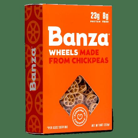 Banza Chickpea Pasta Wheels, 227g