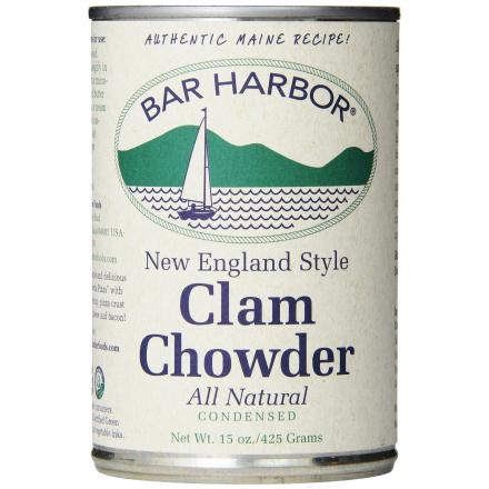 Bar Harbor Clam Chowder New England Style, 398ml