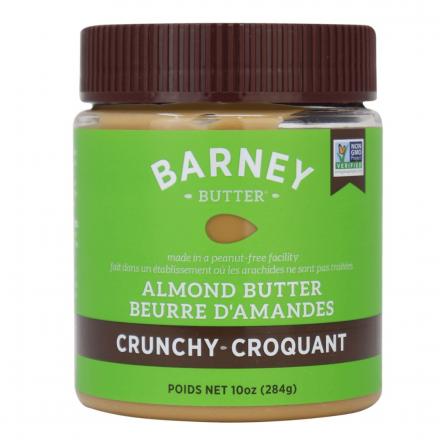Front of Barney Butter Crunchy Almond Butter, 284g