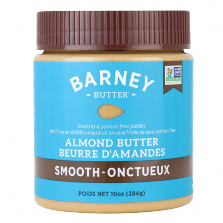 Front of Barney Butter Smooth Almond Butter, 284g