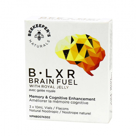 Beekeeper's Naturals B.Lxr Brain Fuel with Royal Jelly, 30ml