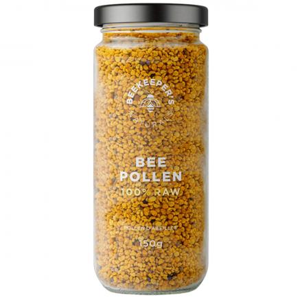 Beekeeper's Naturals 100% Raw Bee Pollen, 150g