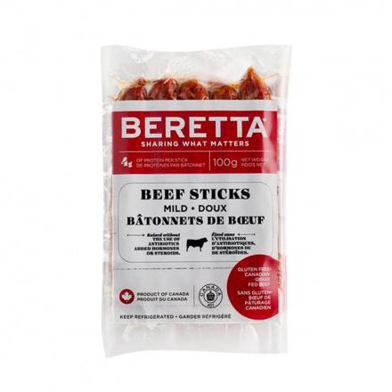 Beretta Beef Sticks Mild, 100g
