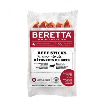 Beretta Beef Sticks Spicy, 100g