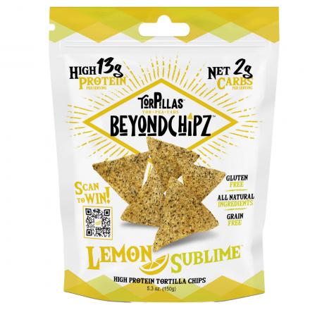Front of BeyondChipz Lemon Sublime, 150g