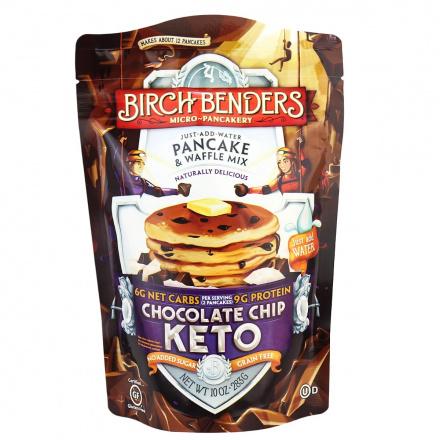 Birch Benders Chocolate Chip Keto Grain-Free Pancake & Waffle Mix, 283g