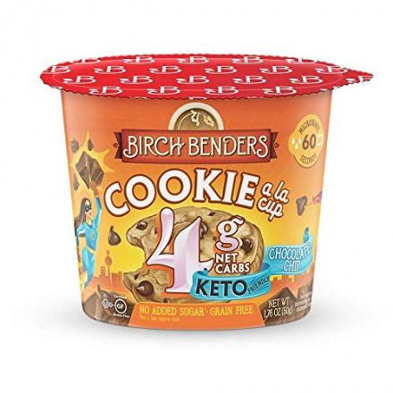 Birch Benders Grain-Free Keto Cookie a la Cup Chocolate Chip Cookie, 50g