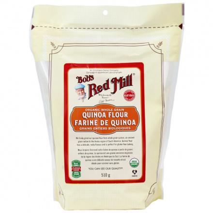 Bob's Red Mill Organic Whole Grain Quinoa Flour, 510g