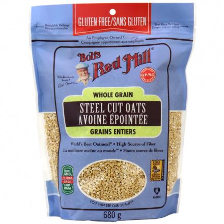 Bob's Red Mill Gluten Free Steel Cut Oats, 680g
