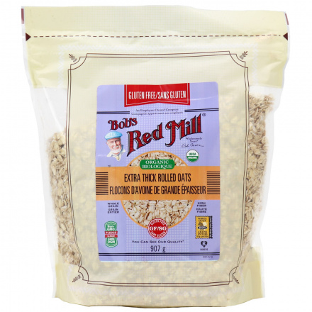 Bob's Red Mill Gluten Free Organic Thick Rolled Oats, 907g