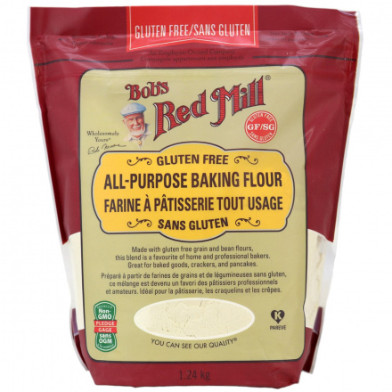 Front of Bob's Red Mill Gluten Free All Purpose Baking Flour, 1.24kg