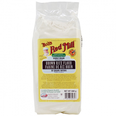 Bob's Red MIll Organic Brown Rice Flour, 680g