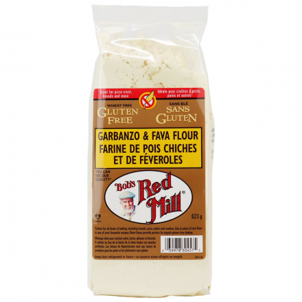 Front of Bob's Red Mill Gluten Free Garbanzo Fava Flour, 623g