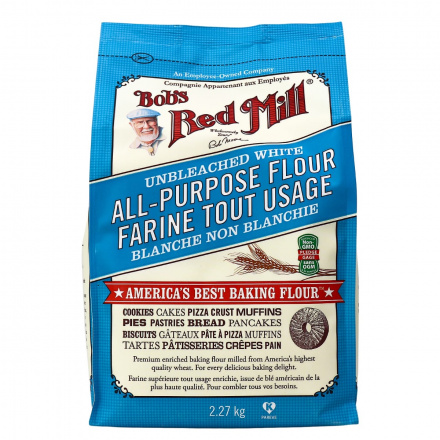 Bob's Red Mill Unbleached White All Purpose Flour, 2.27kg