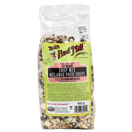 Bob's Red Mill 13 Bean Soup Mix, 822g