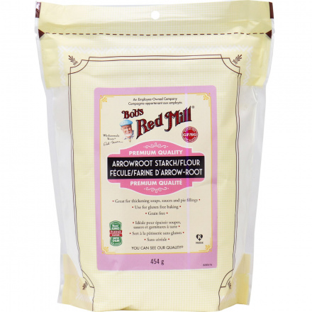 Front of Bob's Red Mill Arrowroot Starch / Flour, 453g