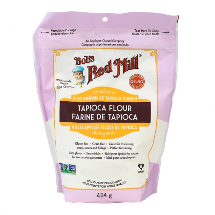 Front of Bob's Red Mill Tapioca Flour / Starch, 454g