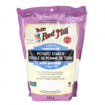 Bob's Red Mill Potato Starch Unmodified, 624g