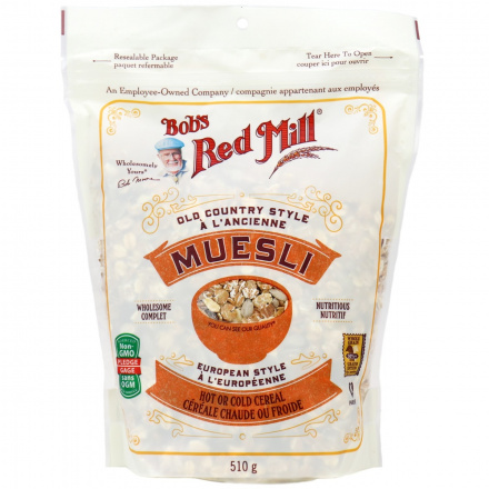 Bob's Red Mill Old Country Style Muesli, 510g