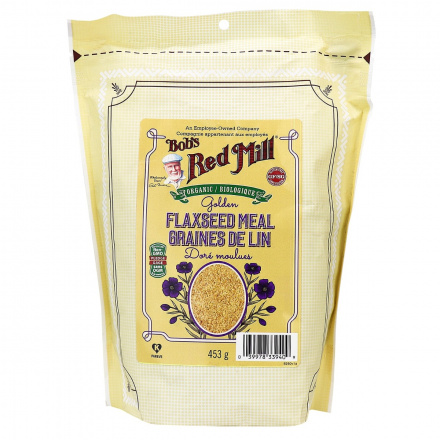 Bob's Red Mill Organic Gluten Free Golden Flaxseed Meal, 453g