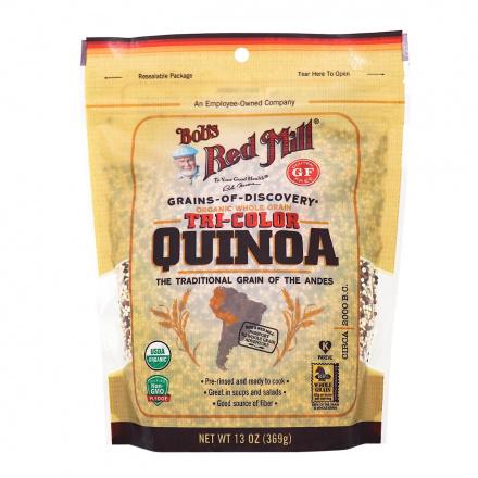 Bob's Red Mill Organic Tricolour Quinoa, 369g