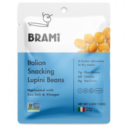 Brami Italian Snacking Lupini Beans Sea Salt & Vinegar, 150g