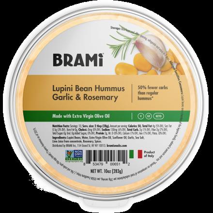 Brami Lupini Bean Hummus Garlic & Rosemary, 283g