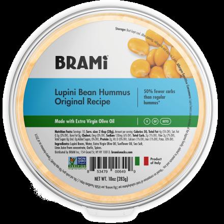Brami Lupini Bean Hummus Original, 283g