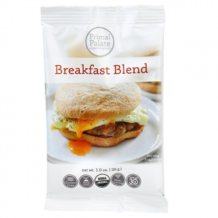 Primal Palate Organic Spices Breakfast Blend, AIP Friendly, 28g
