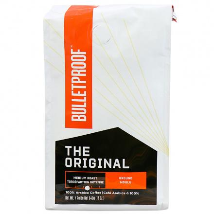Front of Bulletproof The Original Ground Regular Coffee, 340g