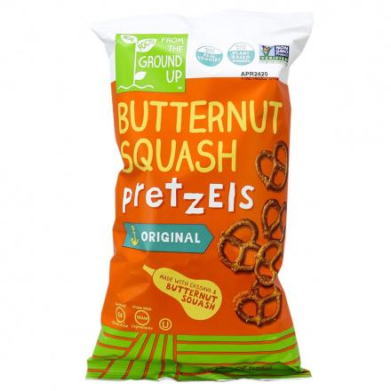 From The Ground Up Butternut Squash Pretzel Twists Original, 128g