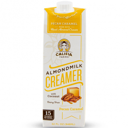 Califia Farms Almond Milk Creamer Pecan Caramel, 946ml