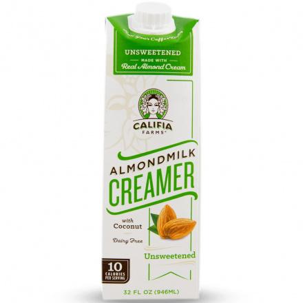 Califia Farms Almond Milk Creamer Unsweetened, 946ml