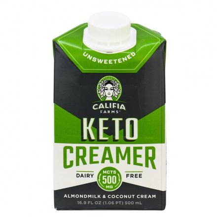 Califia Farms Dairy Free Keto Creamer Unsweetened, 500ml