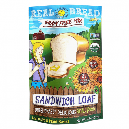 Front of California Country Gal Grain-Free Sandwich Loaf Mix, 275g