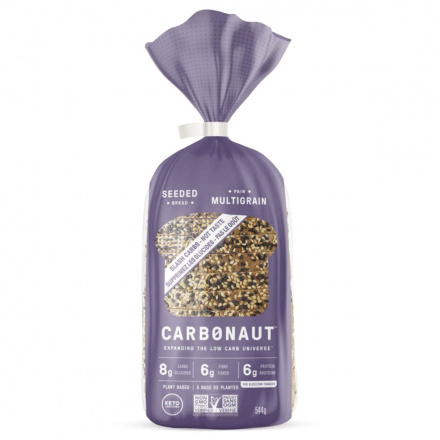 Front of Carbonaut Keto Seeded Bread, 544g