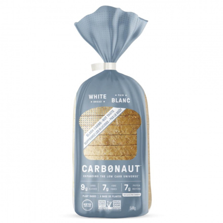Front of Carbonaut Keto White Bread, 544g