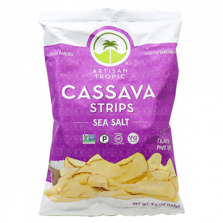 Artisan Tropic Cassava Strips Sea Salt, 128g