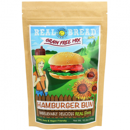 California Country Gal Grain-Free Hamburger Bun Mix, 290g
