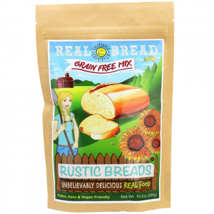 California Country Gal Grain-Free Rustic Bread Baking Mix, 290g