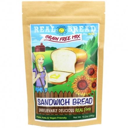 California Country Gal Grain-Free Sandwich Bread Mix, 290g