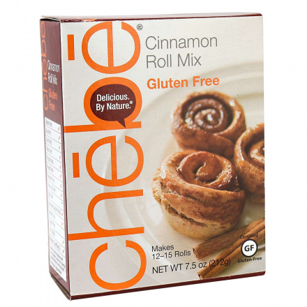 Chebe Grain-Free Cinnamon Roll Mix, 212g