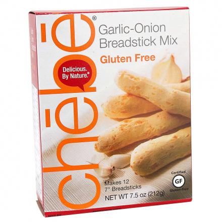 Chebe Grain-Free Garlic-Onion Breadstick Mix, 212g
