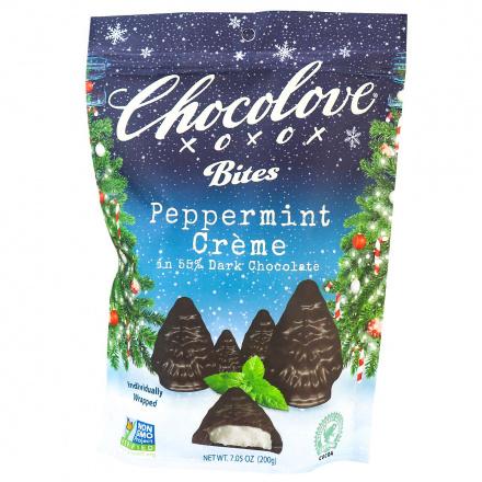 Chocolove Dark Chocolate Peppermint Creme Bites, 200g
