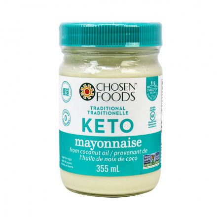 Chosen Foods Keto Mayo From Coconut Oil, 355ml