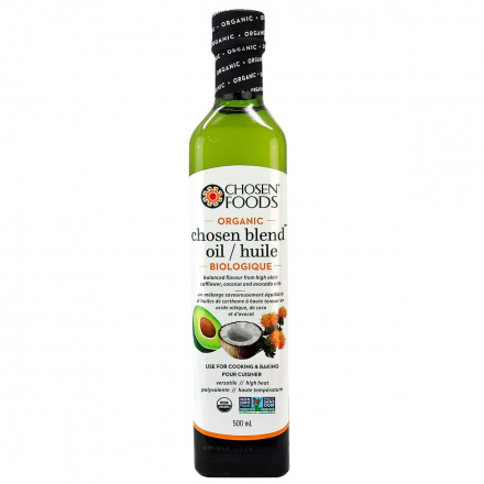 Chosen Foods Organic Chosen Blend Cooking Oil, 500ml